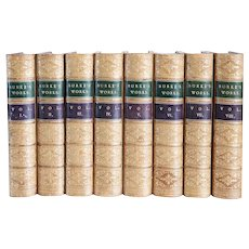 Set of 8 Books: The Works of the Right Honorable Edmund Burke by James Prior