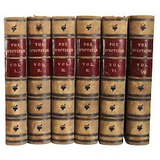 Set of Six Books: The Spectator by Alexander Chalmers