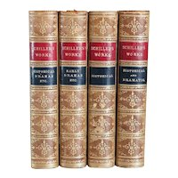 Set of Four Books: The Works of Frederich Schiller