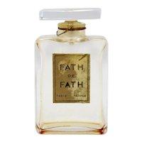 Vintage French Jacques Fath de Fath Glass Perfume Flacon Bottle