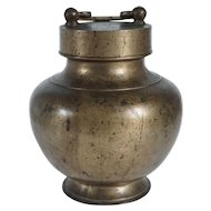South Indian Brass Kooja Temple Milk Pot