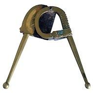 Indian Brass Betel Nut Cutter (Sarota)