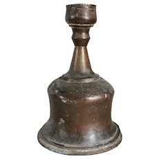 Large Indian Mughal Copper Hookah Base