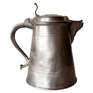 Scandinavian Carl XIII Pewter Flagon