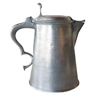 Swedish Gustav IV Adolf Pewter Flagon