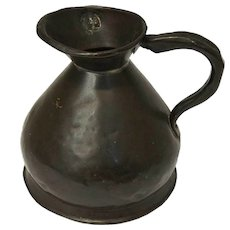 English George III Farrow and Jackson Copper Half Gallon Ale Jug
