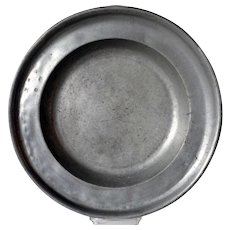 Swedish Kristianstad Pewter Charger
