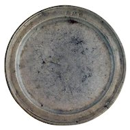 Swedish Bengt Stahlstrom Pewter Plate