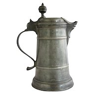 German Pewter Spouted Flagon