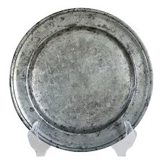 French Pewter Plate