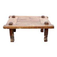 Indian Teak Rustic Rectangular Coffee Table