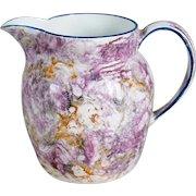 Small English Wedgwood Creamware Moonlight Lustre Creamer