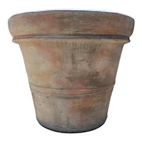 Monumental Spanish Cast Cement Garden Planter