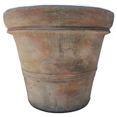 Monumental Spanish Terracotta Garden Planter