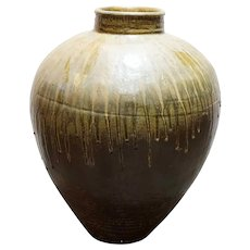 Large Chinese Hebei Pottery Vessel