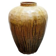 Large Chinese Shanxi Province Pottery Vessel