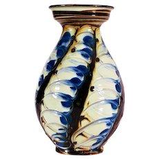 Danish Herman A. Kahler Art Pottery Vase