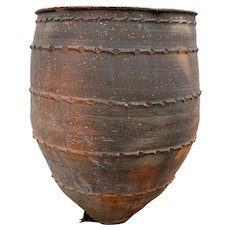 Large Spanish Terracotta Pottery Garden Planter