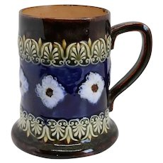 English Doulton Lambeth Art Nouveau Pottery Mug or Tankard