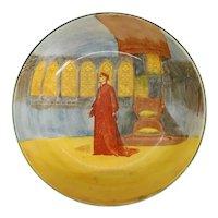 English Royal Doulton Bone China Shakespeare Series Ware Cardinal Wolsey Fruit Bowl