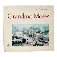 Vintage Art History Book: Grandma Moses by Otto Kallir