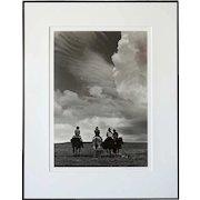BARBARA VAN CLEVE Black and White Photograph, Noon Break