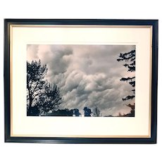 BARBARA VAN CLEVE Black and White Photograph, Cloud Cauldron #2