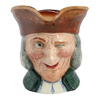 Vintage English Royal Doulton Porcelain Vicar of Bray D5615 Character Jug