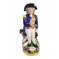 English Staffordshire Pottery Admiral Horatio Nelson Toby Jug