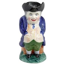 Vintage British Pottery Hands-in-Pockets Toby Jug