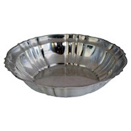 American Gorham Sterling Silver Chippendale Pattern Bowl
