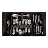 Vintage American Westmorland Sterling Silver George & Martha Washington Flatware (56 pcs.)