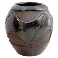 Native American Gil Gorita Santa Clara Pottery Vessel