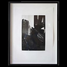 Mark Lunning Etching, Dusk at D.A.M., 6/25