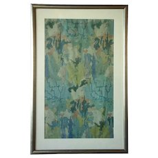 MARGARET MCKAY TEE Watercolor Painting, Abstract