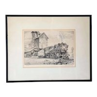 REYNOLD H. WEIDENAAR Etching and Mezzotint on Paper, Last Run