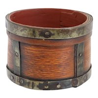 American Wooden Bucket Grain Measure