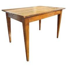 Small French Provincial Walnut Farm Table