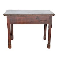 French Provincial Walnut Side / Work Table