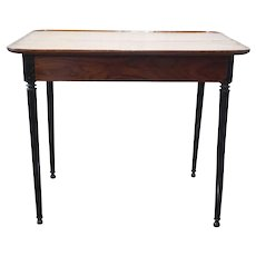 French Colonial Kerala Ebony and Rosewood Table