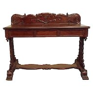 Anglo Indian William IV Rosewood Console Table