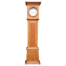 Danish Louis XVI Pine Grandfather Clock