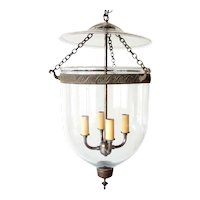 English Regency Style Glass Four-Light Hall Lantern