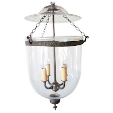 English Regency Style Glass Four-Light Hall Lantern