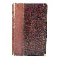 1st Edition Leather Bound Book: La Trompette de Marengo by Samuel Cornut