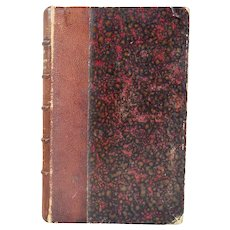 1st Edition Leather Bound Book: La Trompette de Marengo by Samuel Cornut