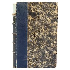 French Leather Bound Book: Ames Cevenoles by J. Hudry-Menos