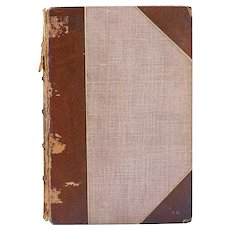 Leather Bound Book: The Complete Angler by Izaak Walton and Charles Cotton