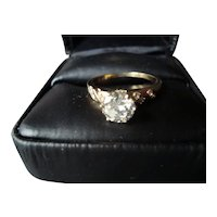 14KT Gold Diamond Engagement Ring - 1.05cts.