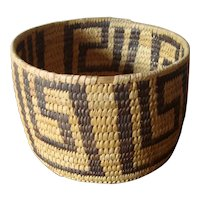 Vintage Native American Papago Basket
